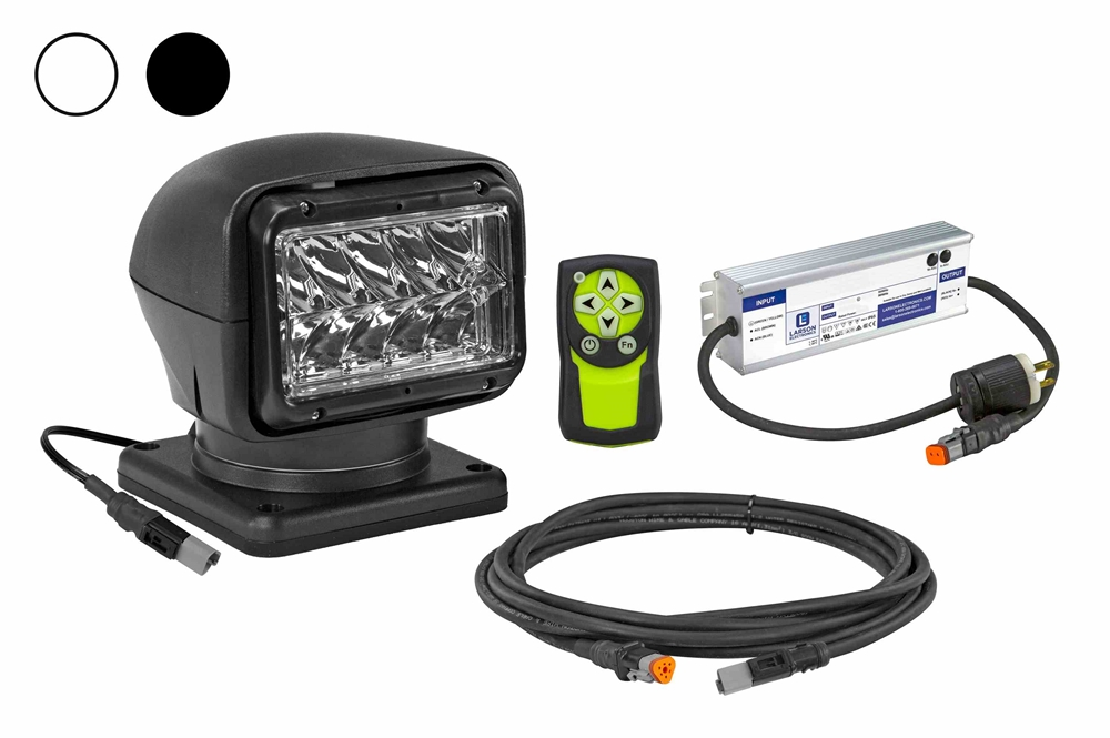 golight stryker gl-9999 wireless remote control spotlight with handheld remote