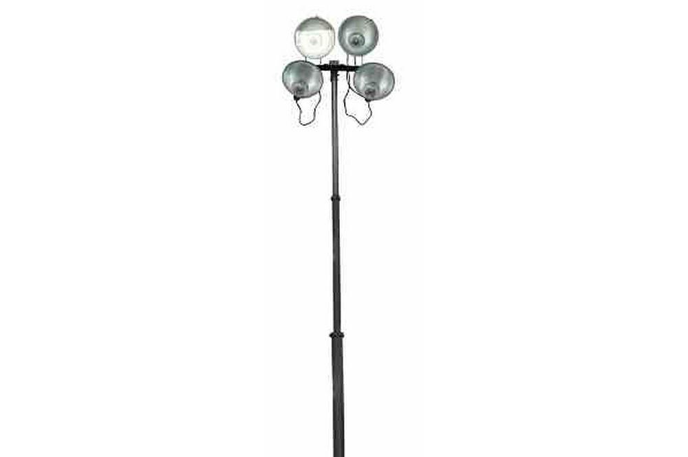 4000 watt pneumatic light tower extends to 30 feet. Black Bedroom Furniture Sets. Home Design Ideas