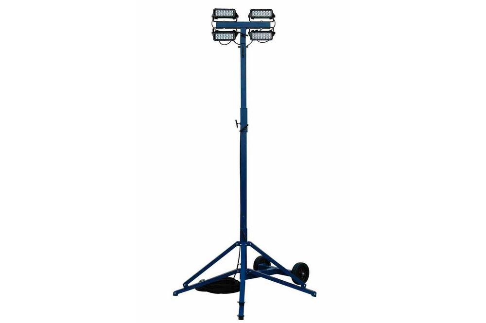 Rental 144 Watt Quadpod Portable Led Work Light 8 640