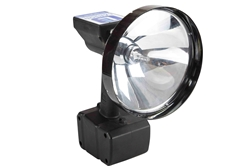 Rechargeable HID Search Light - 200lb. Magnetic Base - 4000' Spot Beam - Flood/Spot Combo - 35 Watt