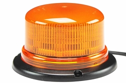 Class 1 LED Beacon with 11 Strobing Light Patterns - Permanent Surface Mount - 1620 Lumens