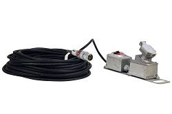 Explosion Proof Extension Cord - 160ft - Inline Switch - 20 Amp / 250 Volt Rated - 2 Pole 3 Wire