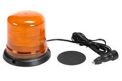 Class 1 LED Beacon with 11 Strobing Light Patterns - Magnetic Surface Mount - 3192 Lumens