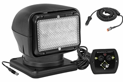 24 Volt Portable Golight Radioray Remote Control Spotlight-Permanent Mount Shoe - Inline Transformer