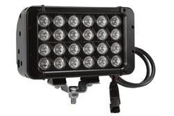 72 Watt Infrared LED Light Bar - 24 LEDs - 10hz IR Strobe - 900'L x 100'W Beam - Extreme Environment