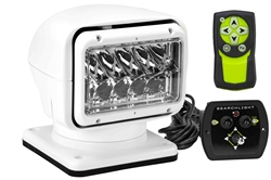 Telecontrol inalámbrico dual 20074 Golight, foco LED - Viga 900 - Blanco - Base permanente - 2520 lúmenes
