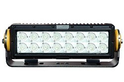 160 Watt High Intensity LED Strobe Light - 16 LEDs - 14,723 Lumens - Degreed Aiming - 60 Hz Strobing