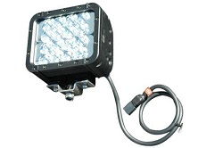 48 Watt Colored LED light emitter  - Green & Red Light - 9-42 VDC - 700'L x 80'W Beam - Extreme