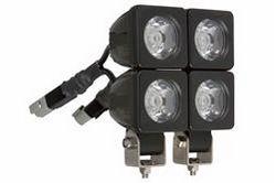 12 Watt infrapunane LED valgusdiood - (4) 3 Watt LEDid - alumiiniumist korpus - 500'L X 50'W Spot