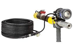 18 Watt Work Area LED Blasting Light w / Handle - Luz de alto rendimiento LED Blasting Gun - 120-277V AC