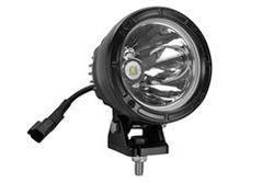 "25 Watt High Intensity LED Spotlight - 12-32V DC - 1000ft Long Spot Beam - 4.5""OD Light Head"