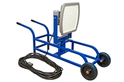 185 Watt Hazardous Location LED Light - Wheelbarrow Cart - C1D2 - ATEX - 100 foot Cord w/ EXP Plug