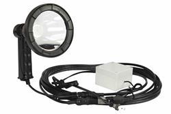 110V pihuarvuti ultraviolettkiirgusega LED-valgusallikas - 25 'juhtmestik - UV365 lainepikkus - 5 Watts