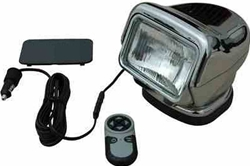 Golight Stryker 3006-F-M Wireless Remote Control FLOOD LIGHT - Handheld Remote - Magnetic - Chrome