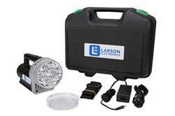 24W Rechargeable Handheld LED Spotlight - 2500 Lumens - Li-Ion Battery - 3000' Spot Beam