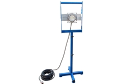 Portable Explosion Proof LED Light - 5' Base Stand Mount - 70 Watt LED - Class 1 Div 1 C&D - 100'