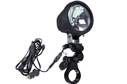 35W HID Spotlight w/ Bar Clamp Pivot Mount - 3200 Lumens - 9-32V DC - Weatherproof Nylon Housing