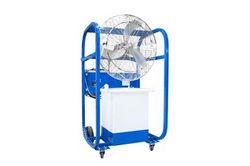 Portable Evaporative Air Mister Cooler - 8723 CFM - Water Mist Cooler - 30 OD - 34 Gallon Tank