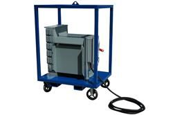 112.5KVA Portable Temporary Distribution Stepup Transformer - 208Y/120V to 480V - (4) 20A GFCI 120V