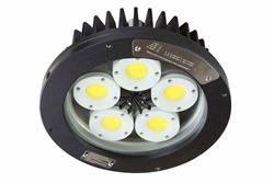 100W Explosion Proof Low Bay AC LED Fixture - C1D1 - C2D1 - Group B + ATEX/IECEX - IP67 Waterproof