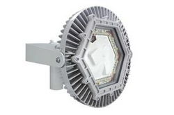 150 Watt Explosion Proof Pole Top Mount LED Light Fixture - C1D1 Group B Hydrogen - 10,000 Lumens