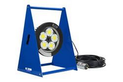 100W Explosion Proof LED Light - C1D1 - C2D1 - Group B+ ATEX/IECEX - IP68 - A-frame Mount