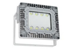 100 Watt Explosion Proof LED Flood Light - Surface Mount - 11,667 Lumens - C1D2 / C2D1 - 347-480V AC