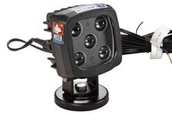 25W sinine LED-valgusallikas w / magnet-aluse alus - 2250-lumeenid - väga vastupidav - IP67 - 12-24V DC