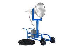 Proyector de halogenuros metálicos 1500W - Carro de carretillas portátil con barra de extensión 3 - 150,000 lúmenes