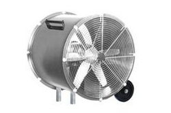 "24"" Explosion Proof High Velocity Rollback Fan - 7400 CFM - 1HP - 115/230V - C1D1 - C2D1"