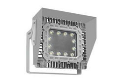 100W Explosion Proof LED Wall Pack Light w/ Glare Shield - Surface Mount - 11,667 Lumens - C1D2