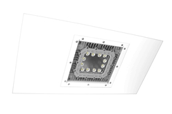 150W Low Profile Explosion Proof LED Light - 2x4 Lay-In Troffer Class 1/2 Div 1/2 Paint Spray Booth