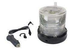 1W Solar Powered LED Strobing Dock Light - Marine Applications - 24/7 Operation - Weatherproof