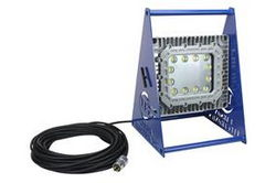 150 Watt Class 1 Div 1 Explosion Proof LED Light -140 ° Spread-Non-Spark Aluminum Base - 120-277V AC