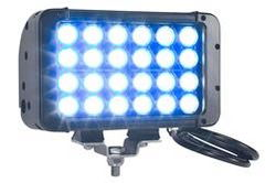 LED Strobing Beacon - 24 LED - Illumination Bleue - 72 Watts - 4230 Lumens - 40Hz Flash Rate