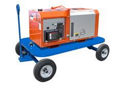 11 kW Portable Generator on Pull-Around Cart – 120/240V 60 Hz – Diesel Engine