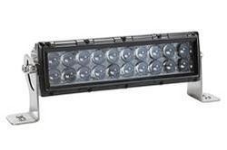 100W LED Work Light Bar - Aluminum Housing - IP67 - Trunnion Mount Bracket - 9-64V DC - 8000 Lumens