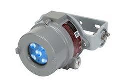 25W Luz de advertencia LED azul montada en la carretilla elevadora a prueba de explosiones- C1D1-2 - C2D1-2 - Carcasa de aluminio - 9-60V DC