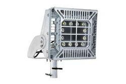 """Luminária LED de montagem em policarbonato ajustável com montagem à prova de explosão 150W - 7 """"Jugo de montagem deslizante com proteção antiderrapante - C2D1 / C1D2"""