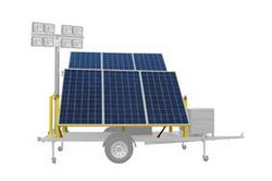 1.5kW Bolt-on Solar Panel Kit - (6) 265-watt Solar Panels - Assembly Rotating