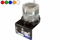 1W Solar Powered 24/7 LED Strobe Light - Marine Applications - Weatherproof - Permanent Mount