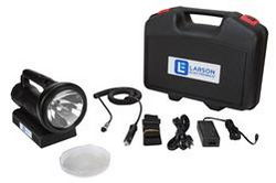 35W Rechargeable HID Handheld Light - 3200 Lumens - 220-240VAC, 50/60Hz Wall Charger
