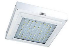 41 Watt LED Canopy Light - Replaces 175 Watt MH Fixtures - 120-277V AC - IP65 Rated