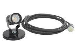 18W Alçak Gerilim LED Spotlu Manyetik Tabanlı w - Ayarlanabilir Taban - 25 'Kordonlu fiş