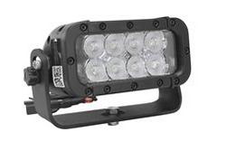 24W LED Light Strobe Light - 8 LEDs - Red Illumination - 1200 Lumens - Dip Switch Control