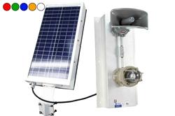 Luz de señal alimentada por energía a prueba de explosiones con alarma audible - C1D1 - C2D1 - Steady Burn o Strobe