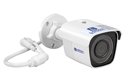 Cámara de seguridad IP 4MP - Alimentación PoE - LED IR - Alarma activada - IP66 - Sun Shield