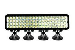 240W IR LED Light Bar - 80 LEDs - 1750'L X 300'W Beam - Extreme Environment - Magnet Mount