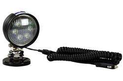 18W PAR36 LED Veturanta Lumo - 1800 Lumoj - 10-30V DC - IP67 Akvimuna - 100lb Magneta Monto
