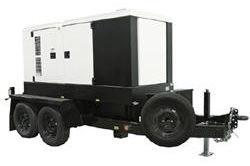 457 kW/571 kVA Portable Generator – 480V/240V/208V 3PH – 239 Gal Fuel Capacity - Trailer Mount